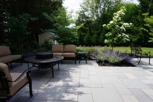 brick by brick pavers and landscaping natural bluestone patio sea girt nj
