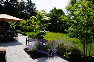 lush gardens sea girt nj brick by brick pavers and landscaping