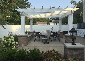 Carefully Designed Pergola